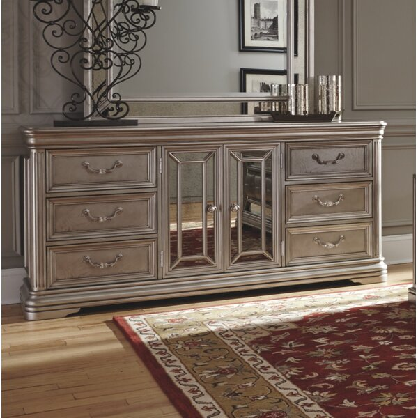 Randell 6 Drawer Combo Dresser by Fleur De Lis Living