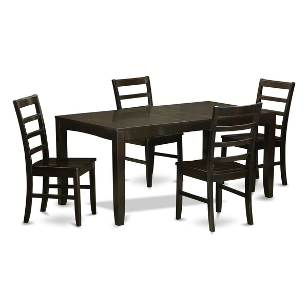 Smithers 5 Piece Dining Set by Charlton Home Charlton Home