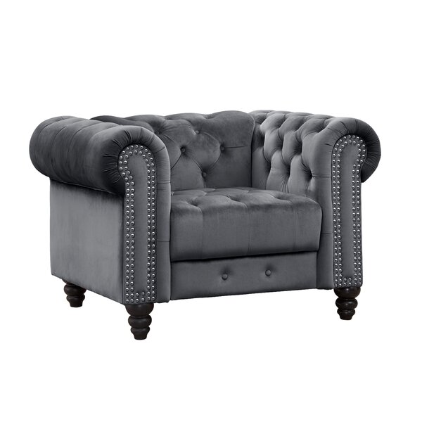 Marvale Chesterfield Armchair by Rosdorf Park Rosdorf Park