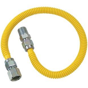 Gas Dryer and Water Heater Flex-Line Range Universal Installation Kit by BrassCraft