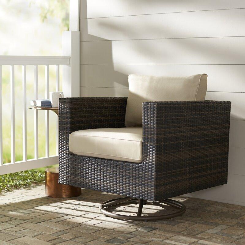 Brayden Studio Lara Patio Chair With Cushion Amp Reviews