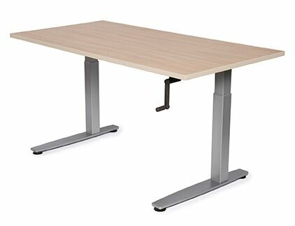 Equity Height Adjustable Training Table by Populas Furniture
