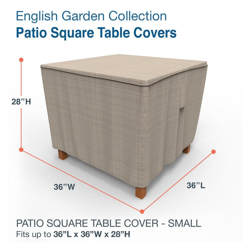 Aadhya Square Patio Table Cover