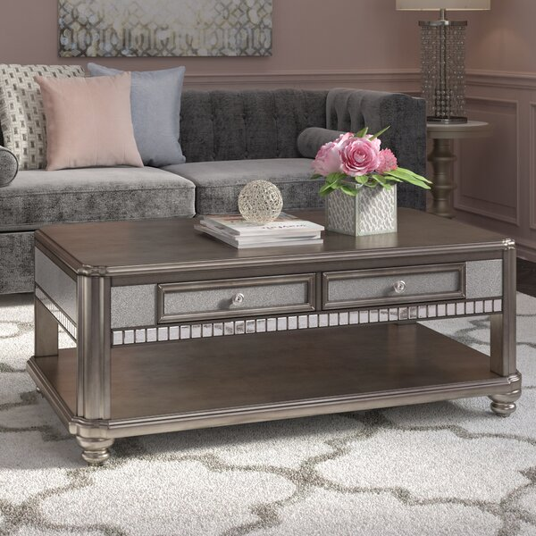 Annunziata Coffee Table with Magazine Rack by Willa Arlo Interiors