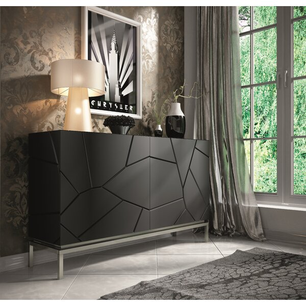 Miramontes 60'' Wide 4 Drawer Sideboard by Everly Quinn Everly Quinn
