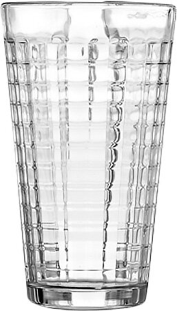 Hoboken 17 oz. Glass Highball Glass (Set of 10) by Design Guild