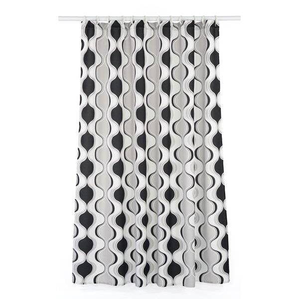 Aquarius Hourglass Shower Curtain Set by LJ Home