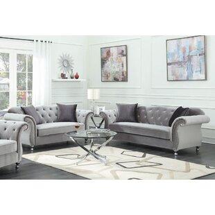 Gen 2 Piece Velvet Living Room Set by Rosdorf Park