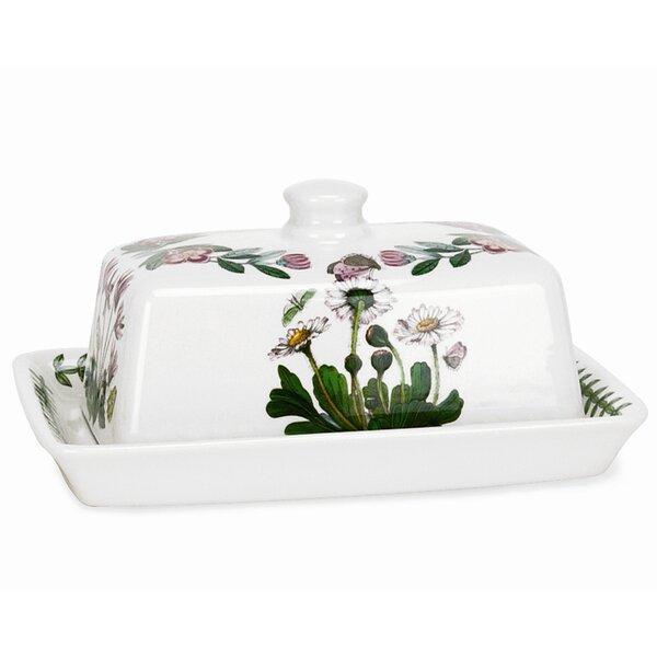 Botanic Garden Butter Dish by Portmeirion