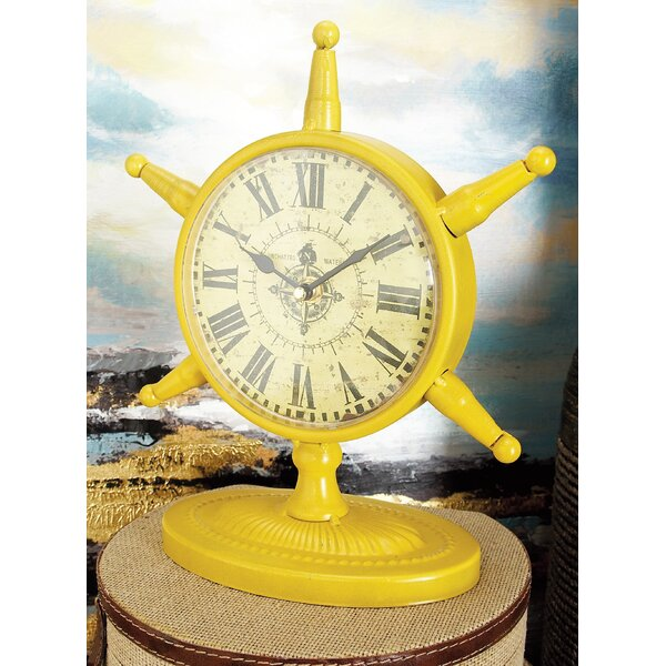 Springfield Table Clock (Set of 4) by Breakwater Bay