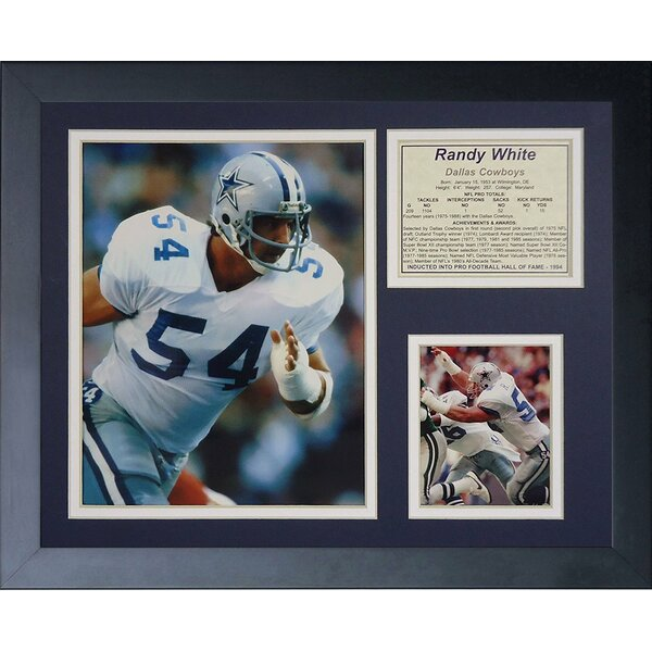 Randy White Framed Photographic Print by Legends Never Die