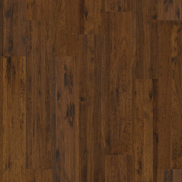 Gilbert 8 Solid Hickory Hardwood Flooring in Madera by Shaw Floors