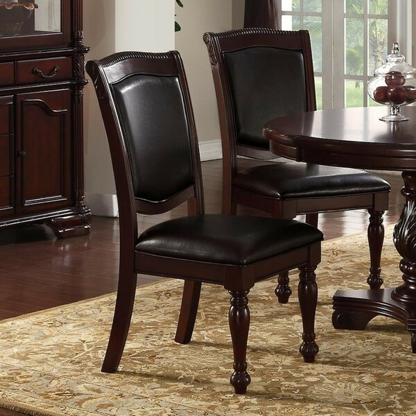 Gledhill Traditional Upholstered Dining Chair (Set of 2) by Fleur De Lis Living
