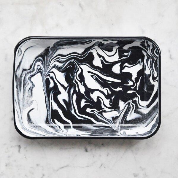 Swirl Rectangular Non-Stick Deep Rect Dish by Bornn