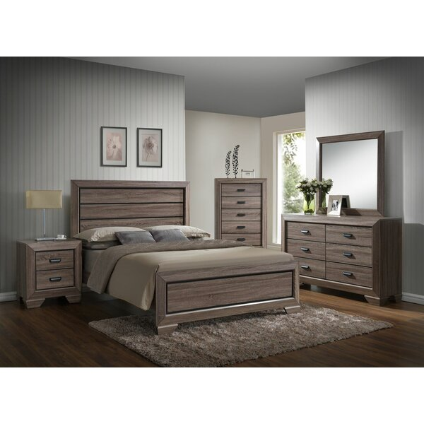 Westman Panel 4 Piece Bedroom Set by Gracie Oaks