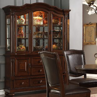 Grundy Lighted China Cabinet