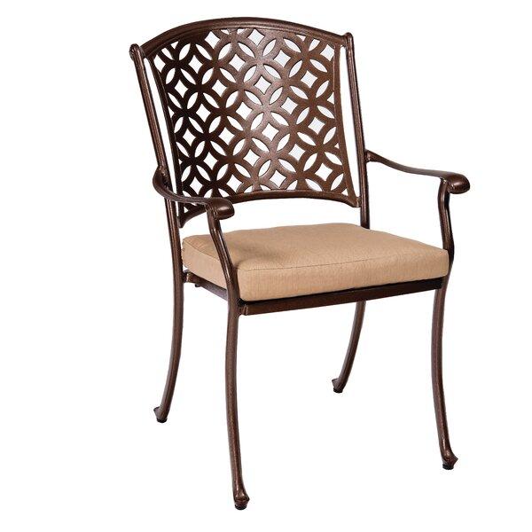 Casa Patio Dining Chair with Cushion by Woodard Woodard