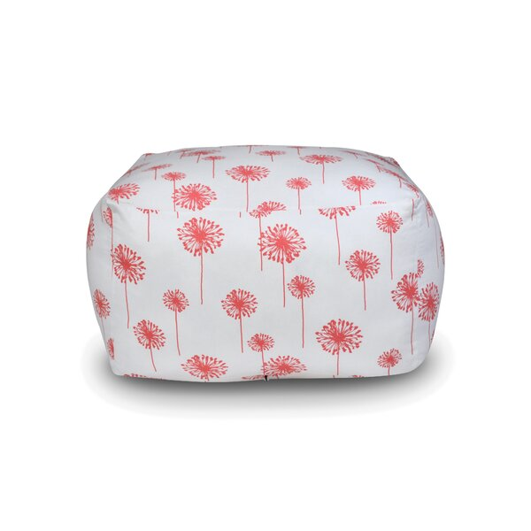 Dandelion Square Pouf by The 1st Chair