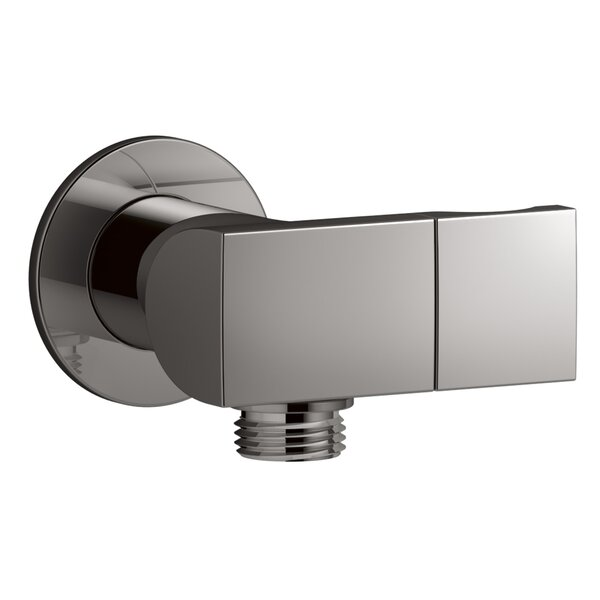 Exhale Wall Mount Supply Elbow with Check Valve and Bracket by Kohler