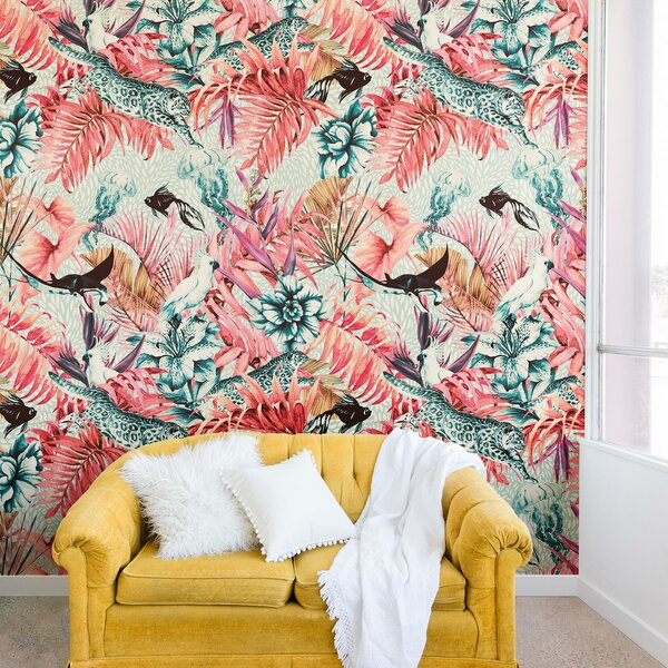 Marta Barragan Camarasa Tropical Paradise Wall Mural by East Urban Home