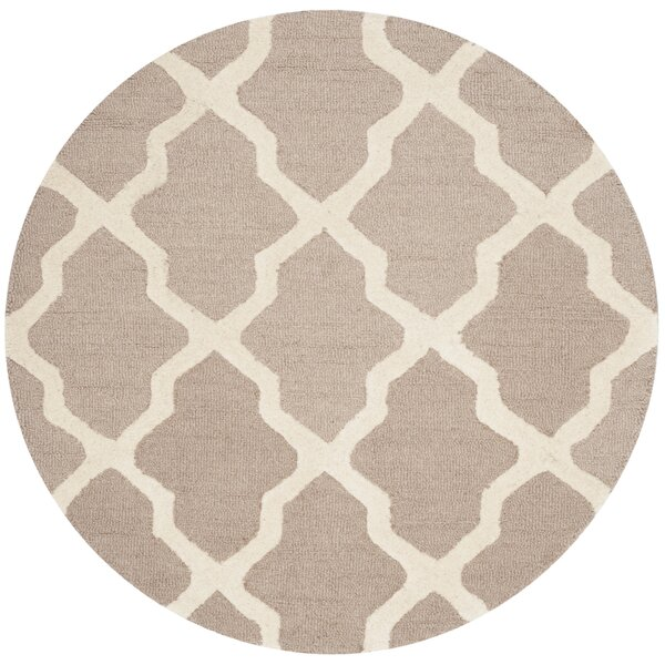 Kirschbaum Hand-Woven Wool Area Rug by Darby Home Co