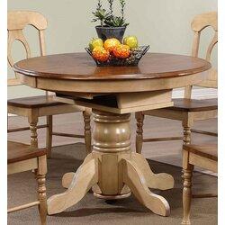 Extending Dining Room Table loon peak agrihan extendable dining table & reviews | wayfair