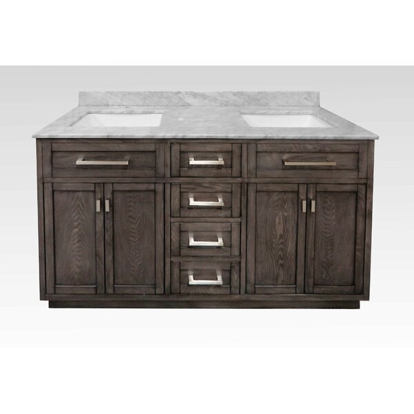 Degraff 60 Double Bathroom Vanity Set by Latitude Run