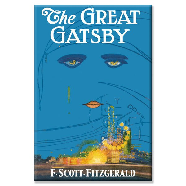 The Great Gatsby Graphic Art on Wrapped Canvas by