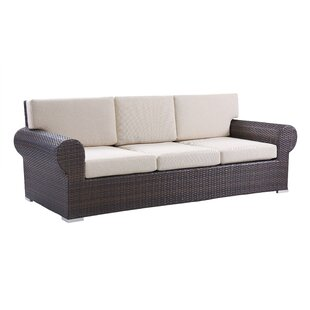 Brookhaven Wicker Sofa With Cushions