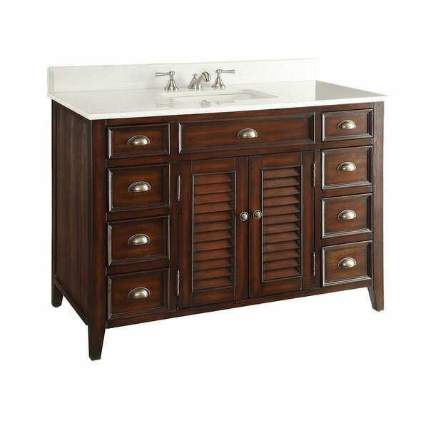 Annabella 47 Single Bathroom Vanity Set by One Allium Way