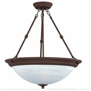 Find for Maineville 3-Light Bowl Pendant By Charlton Home