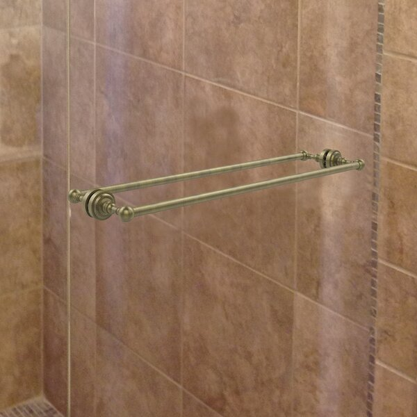 Dottingham Shower Door Wall Mounted Towel Bar by Allied Brass