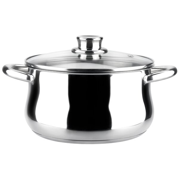 Ideal Stock Pot with Lid by Magefesa