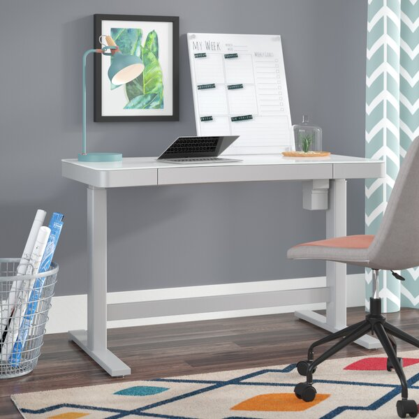 Elle Standing Desk by Symple Stuff