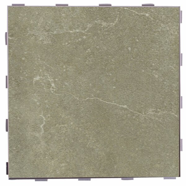 Classic ThinLine 12 x 12 Porcelain Field Tile in Endicott by SnapStone