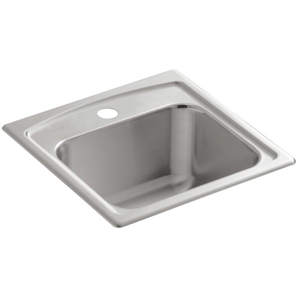 Toccata Top-Mount Bar Sink with Single Faucet Hole by Kohler