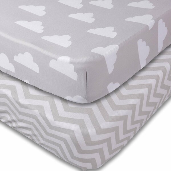 Fitted Crib Sheets by Jomolly