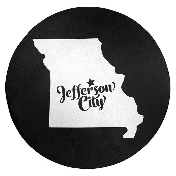 Jefferson City Missouri Poly Chenille Rug