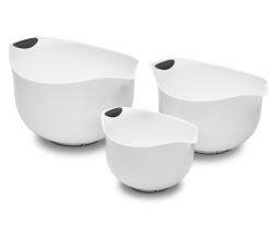 3 Piece Plastic Mixing Bowl by Cuisinart