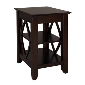Bayridge  End Table by Charlton Home
