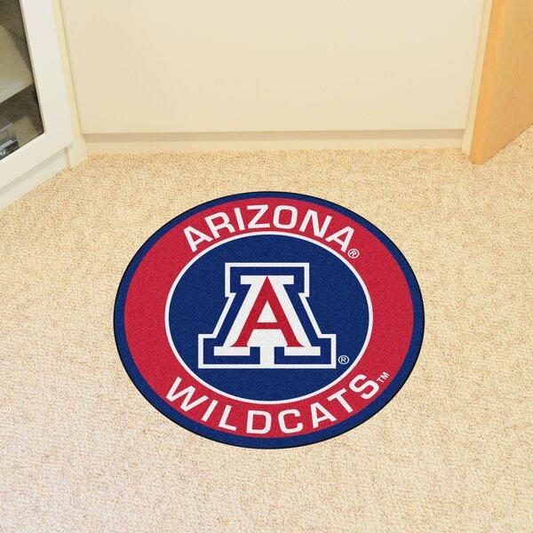 NCAA University of Arizona Roundel Mat by FANMATS