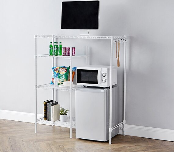 Supreme 53 H x 48 W Adjustable Shelving Unit by Byourbed