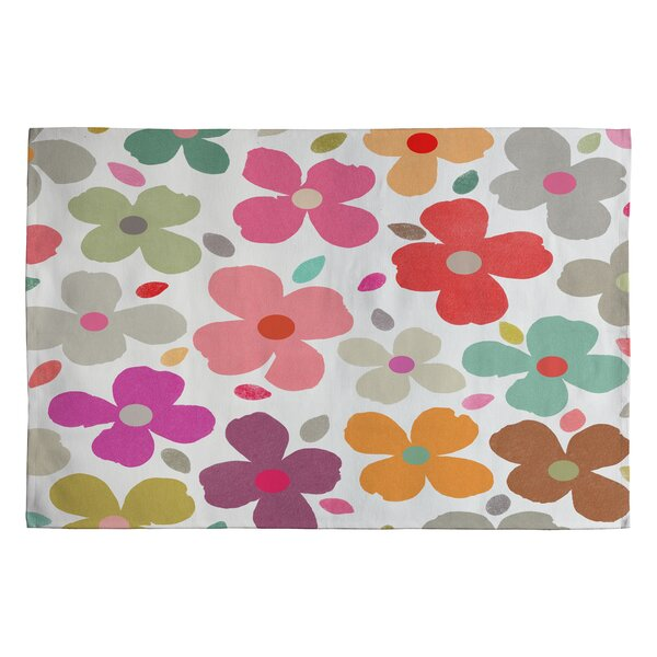 Garima Dhawan Multi Dogwood Kids Rug by Deny Designs