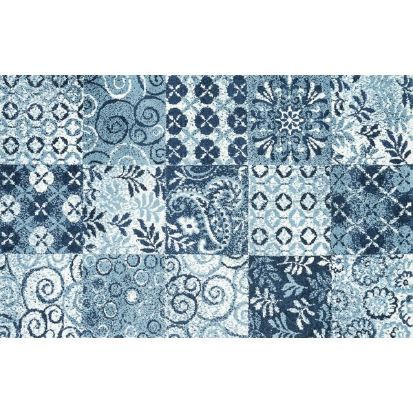 Keiper Blue Area Rug by Alcott Hill