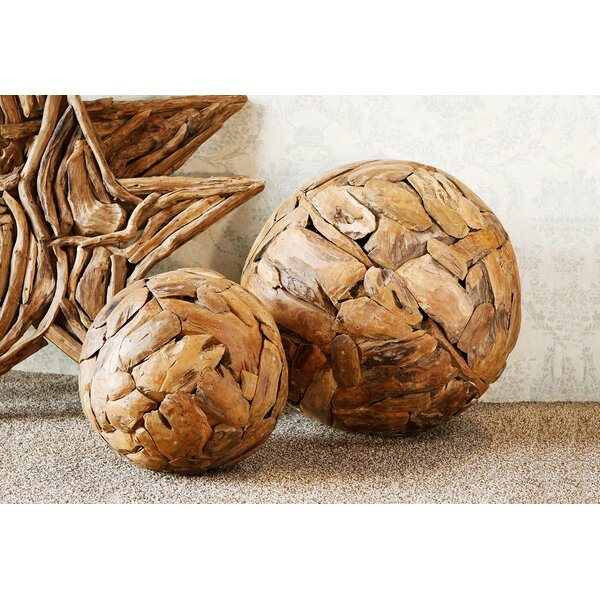 Harini Decorative Ball Sculpture by Garden Age