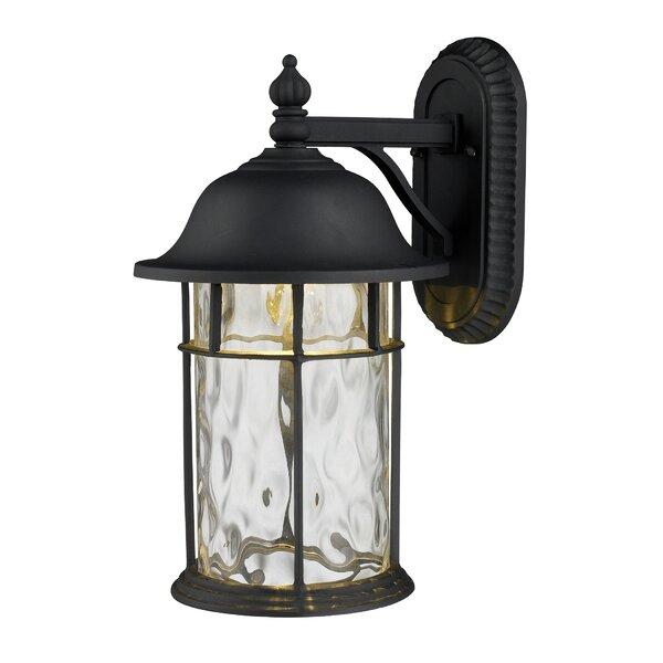 Garofalo 1-Light Outdoor Wall Lantern by Breakwater Bay