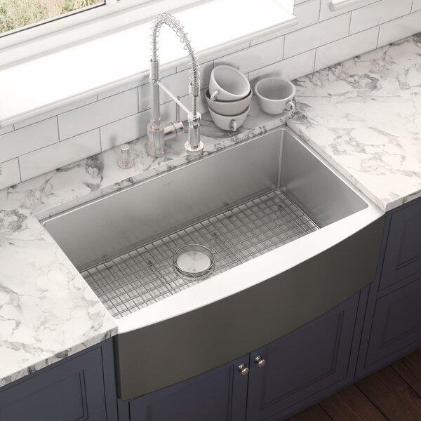 33 L x 21 W Farmhouse Kitchen Sink