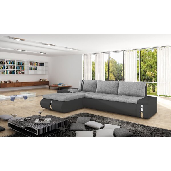 Comanche Mini Sleeper Sectional by Orren Ellis