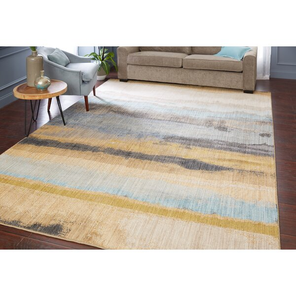 Evansville Golden Mustard Area Rug by Corrigan Studio