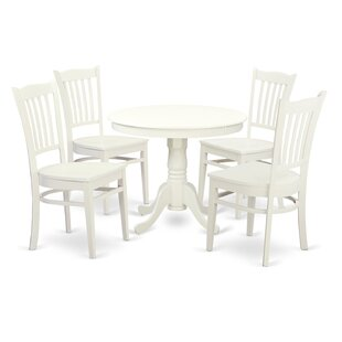 Price comparison 5 Piece Dining Set by Wooden Importers